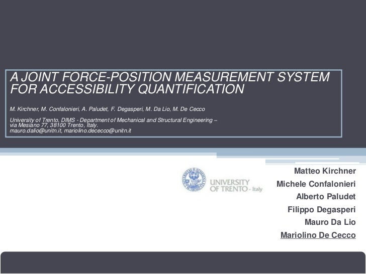 36 a joint force position measurement system for accessibility quantification