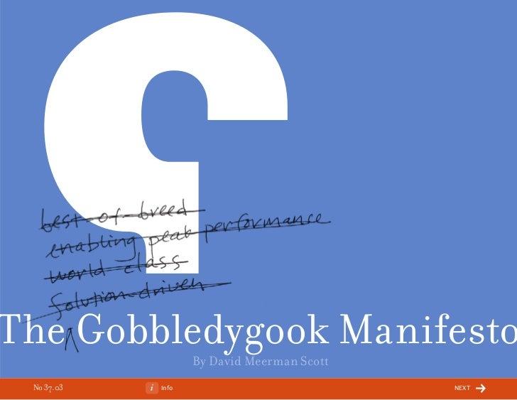 3703 gobbledygook