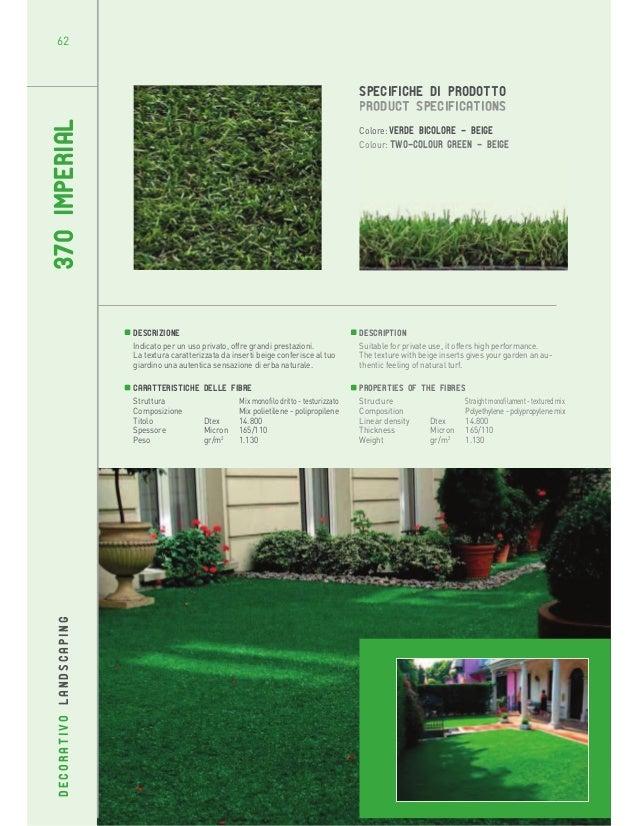62  370 IMPERIAL  SPECIFICHE DI PRODOTTO PRODUCT SPECIFICATIONS Colore: Verde bicolore - beige Colour: Two-colour green - ...