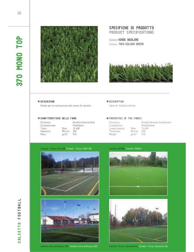 28  370 MONO TOP  SPECIFICHE DI PRODOTTO PRODUCT SPECIFICATIONS Colore: Verde bicolore Colour: Two-colour green  Descrizio...