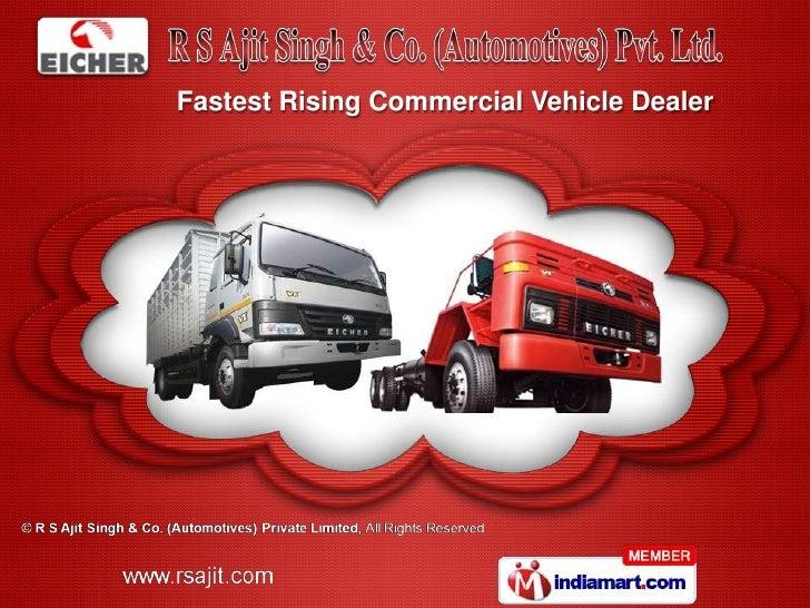 Fastest Rising Commercial Vehicle Dealer