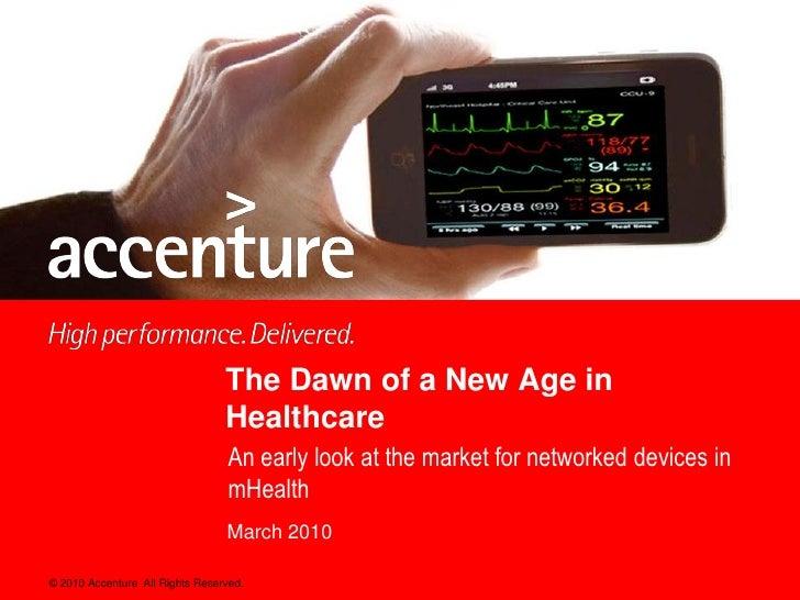 Accenture Mobile Healthcare Report