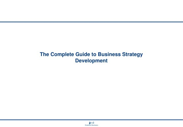 Complete Guide to Business Strategy Design
