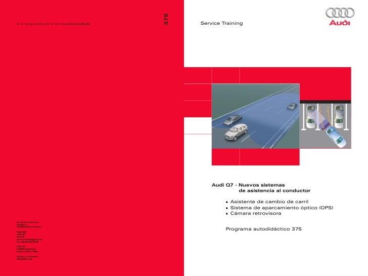375 Audi Q7 Nuevos Sistemas de Asistencia al Conductor.pdf