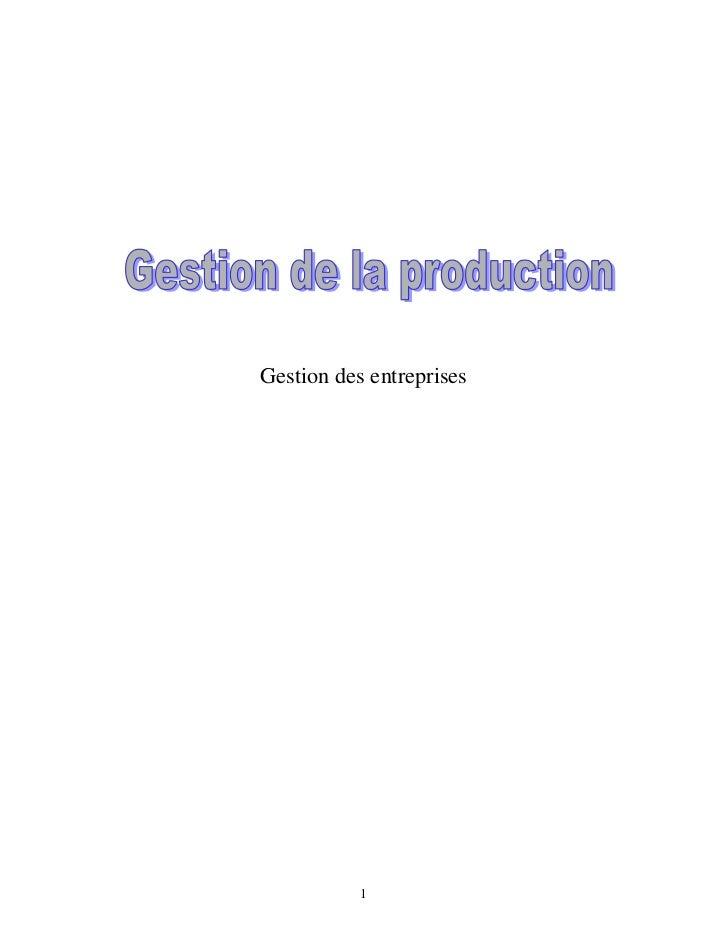 37730578 gestion-de-la-production