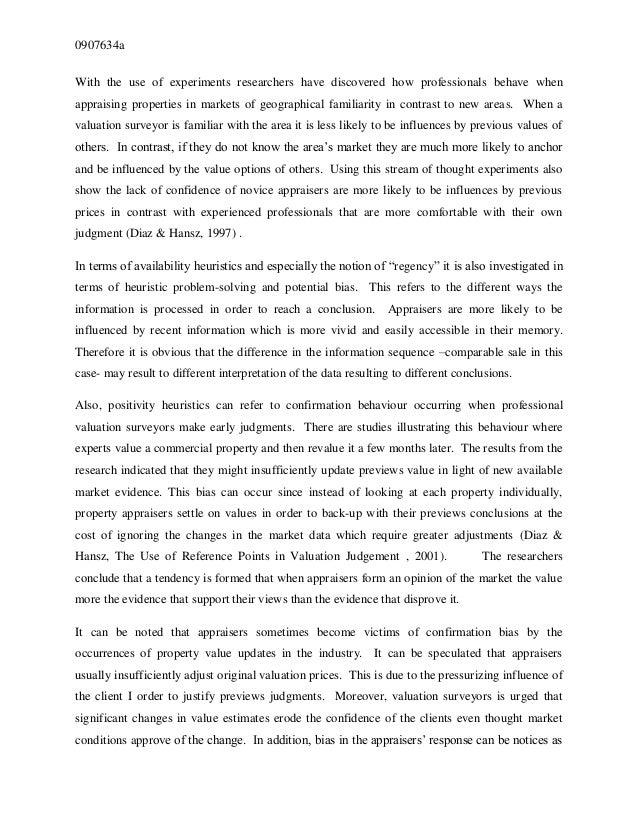 Msc dissertation