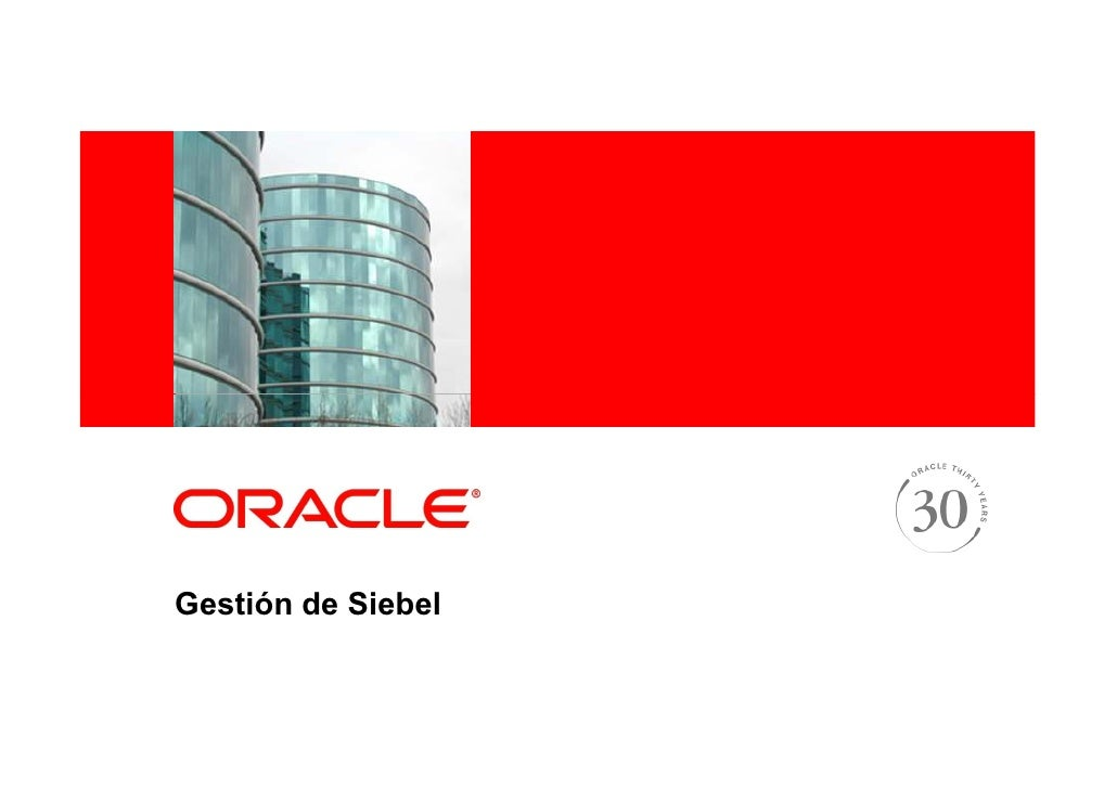 Presentacion SBL Customers Day 3 Ruei And Amp for Siebel