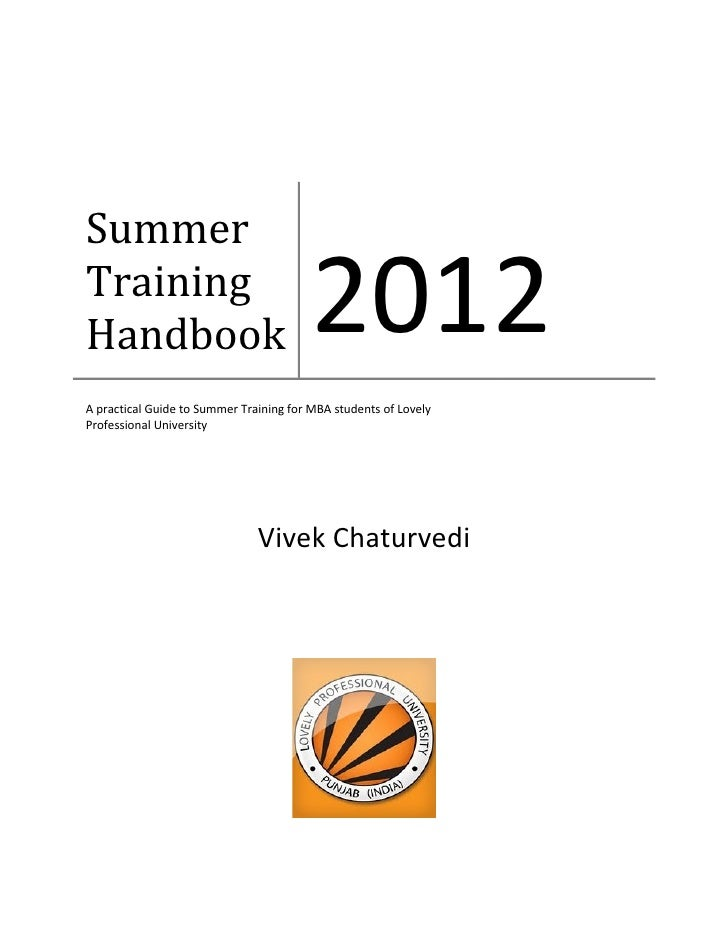 3794 1 summer training handbook