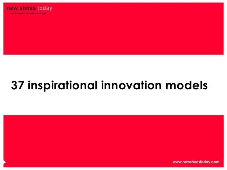 37 inspirational innovation models