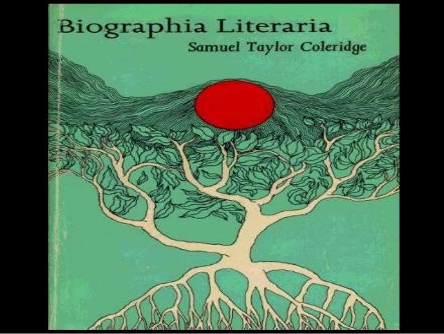 samuel taylor coleridge biographia literaria chapter 4 summary