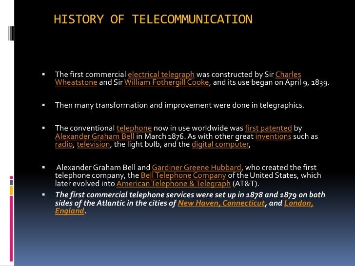 history of telecom industry 4 section 1 market liberalisation - breaking the monopoly 8 bahrain and telecommunications - a potted history 8 a vision and strategy 12 governing the liberalisation of the industry: the inception of the tra 13 batelco's leadership legacy 14 liberalising the telecommunication industry: the entry of zain.