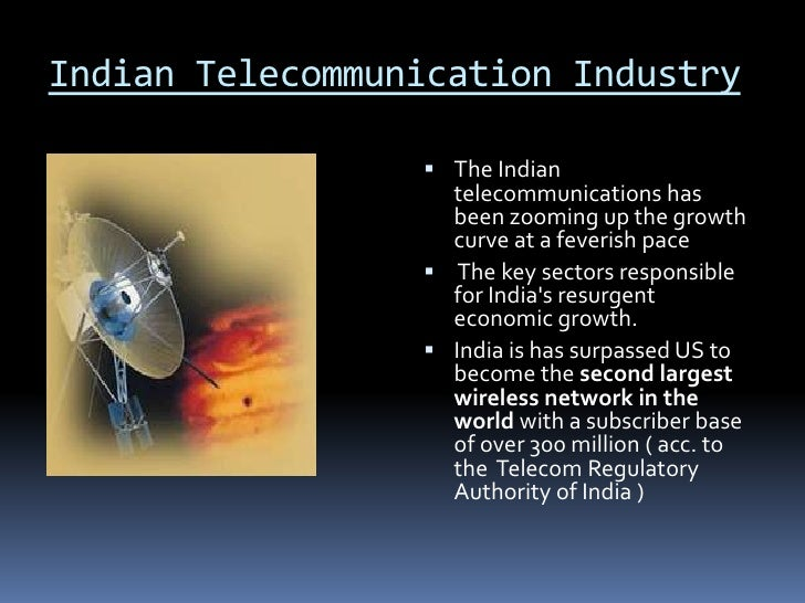 essay on growth of telecommunication in india