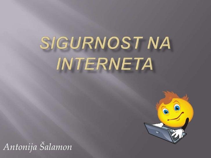 383 Sigurnost na internetu
