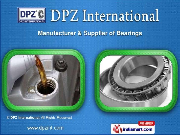 Manufacturer & Supplier of Bearings