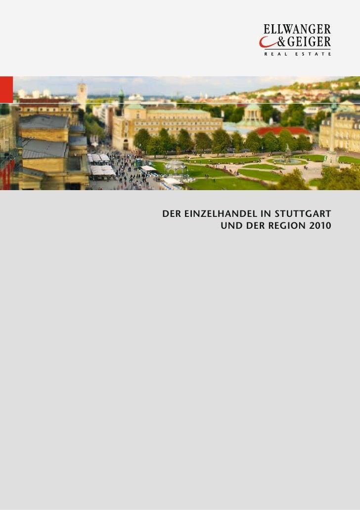 Einzelhandelsmarktbericht Stuttgart 2010