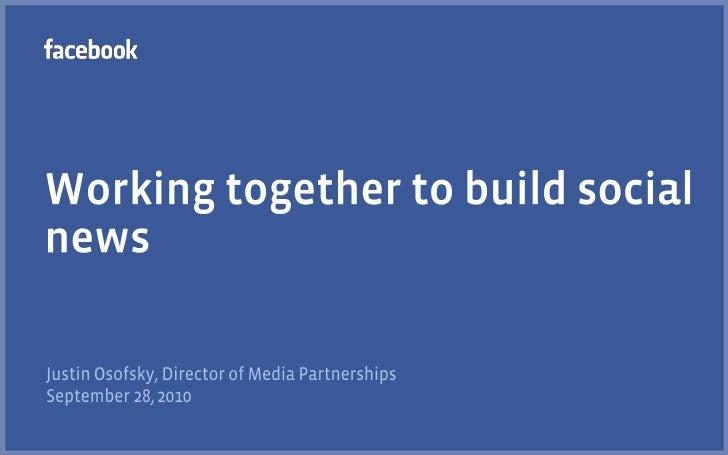 Facebook et strategie réseaux sociaux