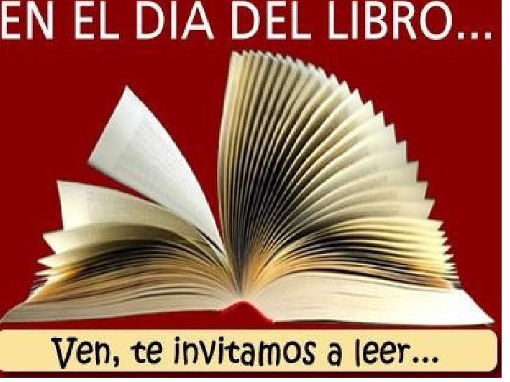Día del Libro. Mario
