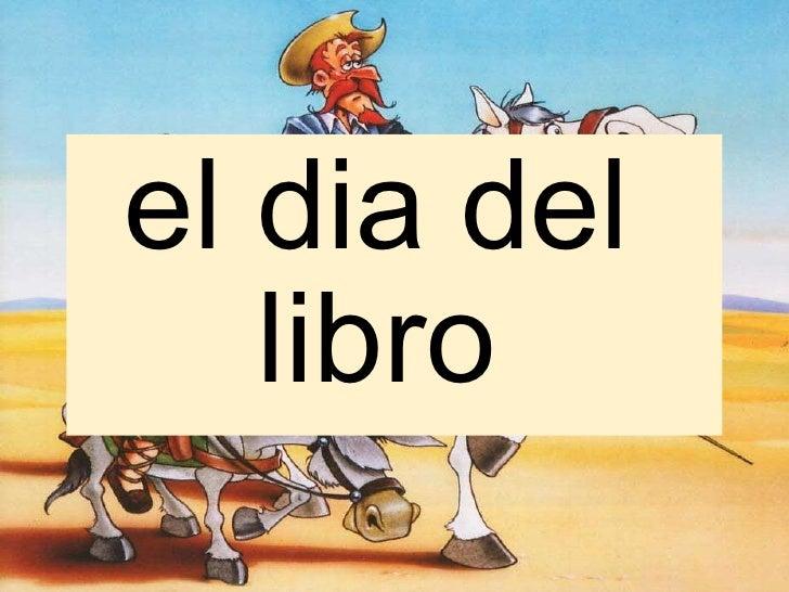 Día del Libro. Rubén