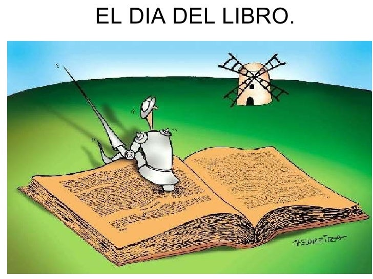 EL DIA DEL LIBRO.