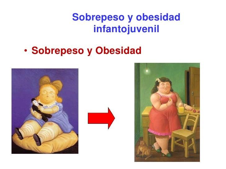 Sobrepeso y obesidad             infantojuvenil  • Sobrepeso y Obesidad