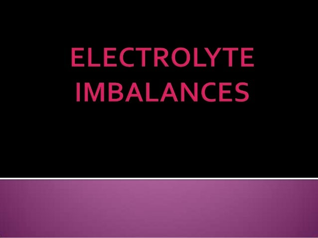    Most abundant electrolyte in the ECF   135 to 145 mEq/L   Has a major role in controlling water    distribution thro...