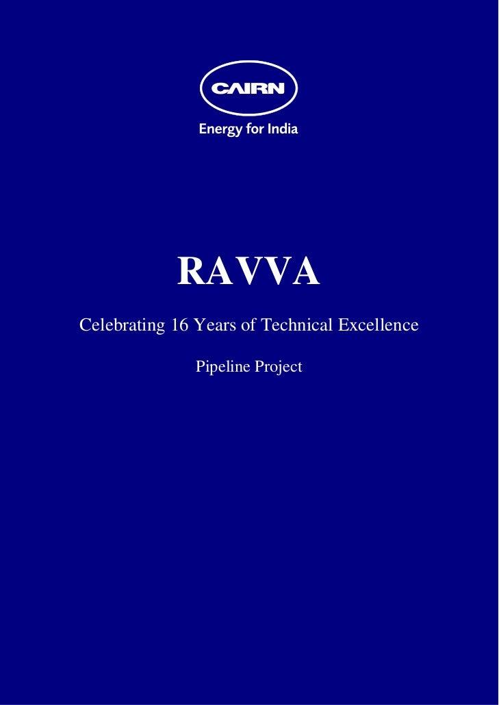 Ravva Pipeline Project