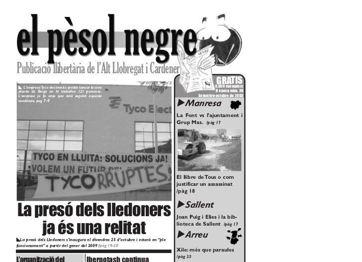 Publicació llibertària de l'Alt Llobregat i Cardener x L'empresa Tyco electronics pretén tancar la seva                   ...