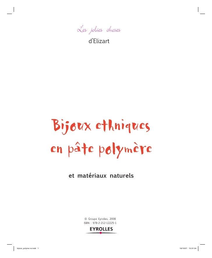 39 Bijoux Fimo