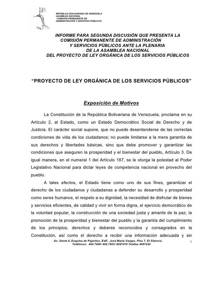 Exposicion-de-motivos-proyecto-de-ley-organica-de-los-servicios-publicos