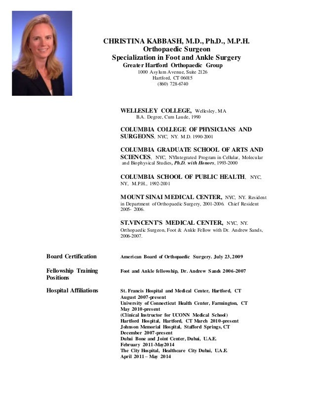 Resume vincent g duffy phd