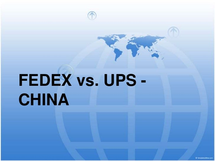 fedex vs ups case study solution Fedex and ups-the war continues case study solution, fedex and ups-the war continues case study analysis, subjects covered competitive strategy group dynamics marketing strategy strategy formulation by robert e spekman, jeanna composit source: darden school of.