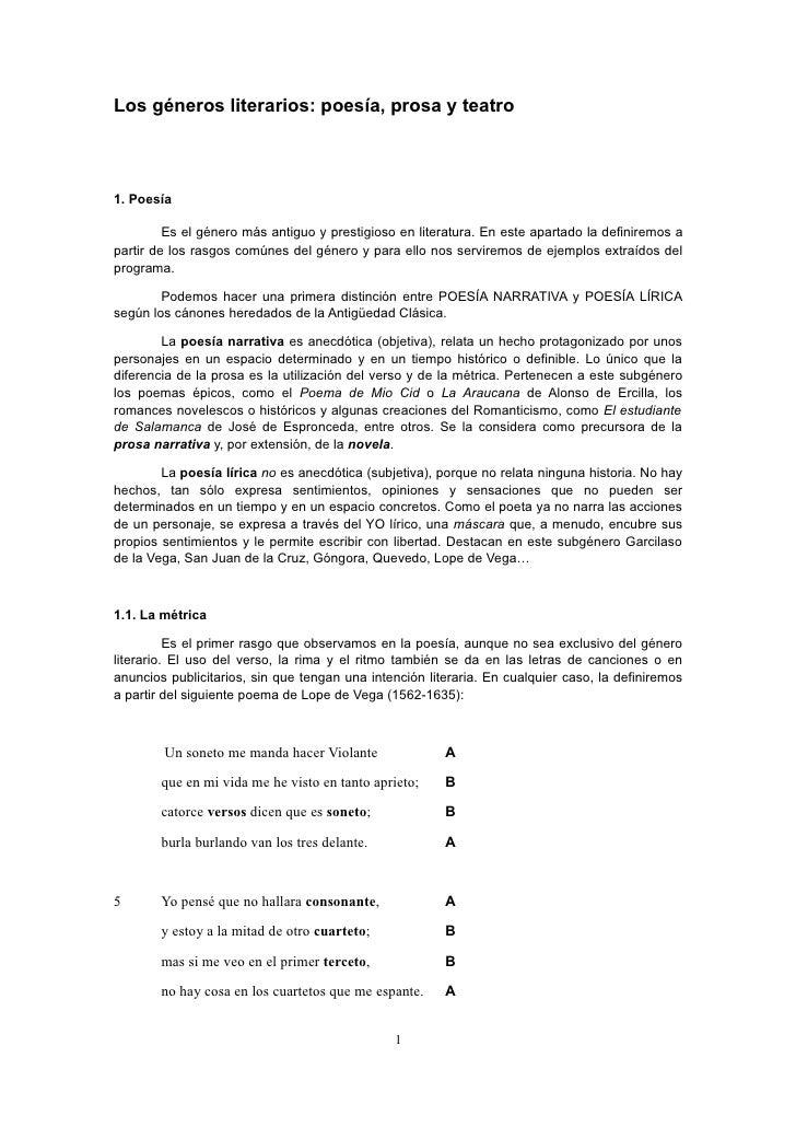 3937265 Los Generos Literarios Metrica