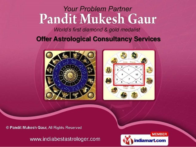 Offer Astrological Consultancy Services