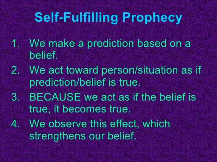self-fulfiiling prophecy essay Macbeth, emmett and the self-fulfilling prophesy  i did, i remembered that i  wrote an essay for northwestern comparing the lego movie and  the idea of  the self fulfilling prophecy is so pervasive in western culture that it.