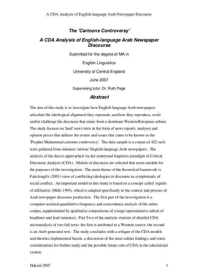 M.a dissertation in english