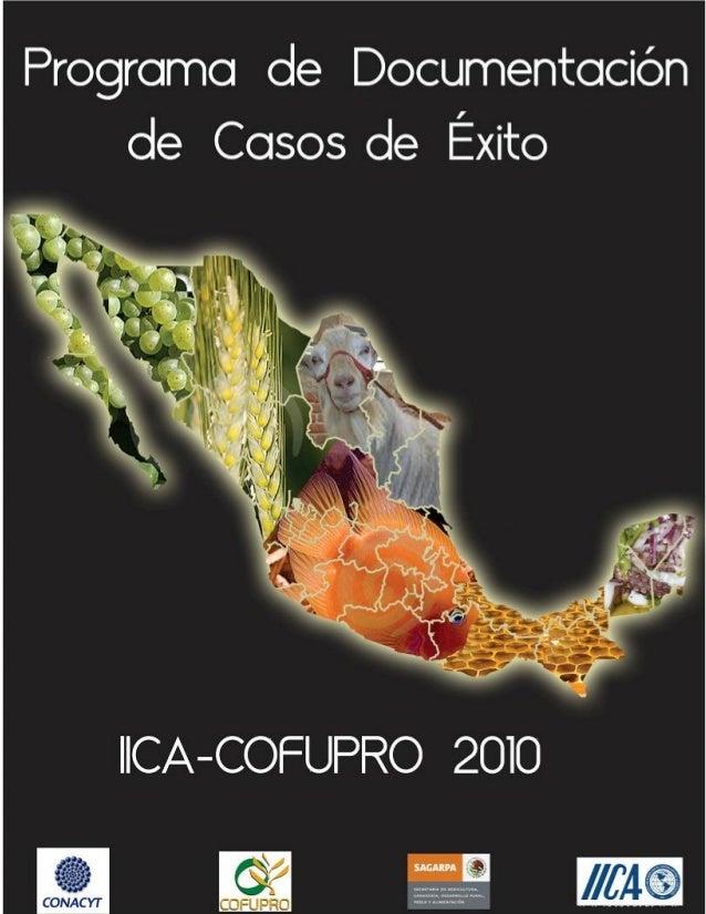 PROGRAMA ELABORACIÓN DE CASOS DE ÉXITO DE INNOVACIÓN EN EL SECTOR AGROALIMENTARIO 1 Fundación Produce Puebla A.C.