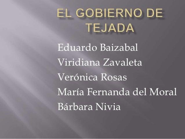 Eduardo BaizabalViridiana ZavaletaVerónica RosasMaría Fernanda del MoralBárbara Nivia