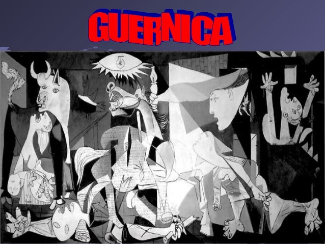 Demonstrative lesson on Guernica (History//Art) by class 3A.