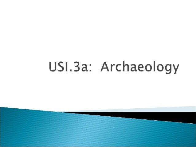 3a archaeology