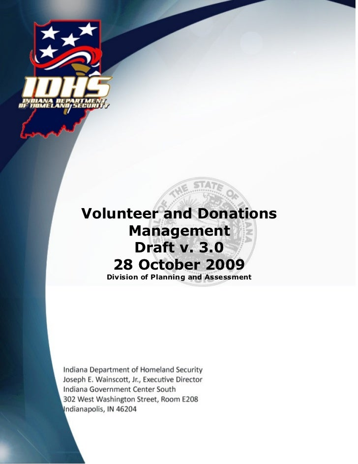 3a draft  volunteer donations management (12.13.2011)