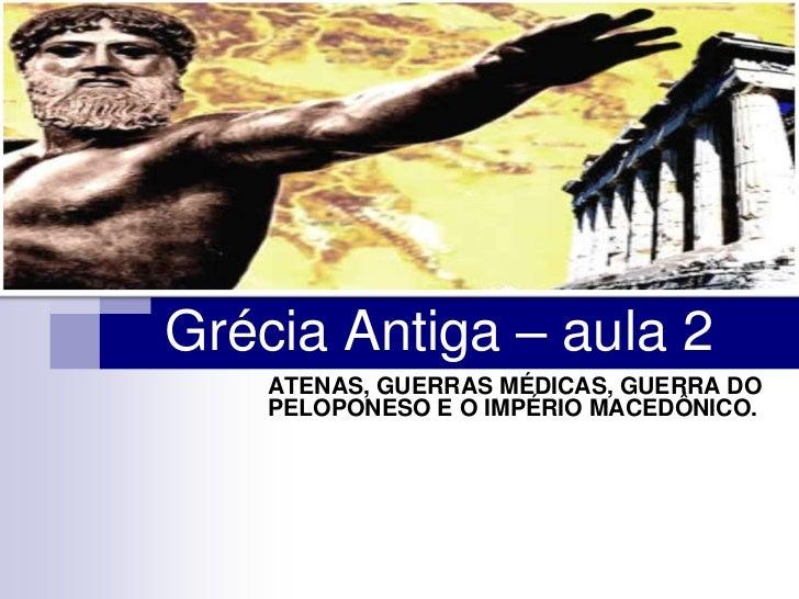 3° ano - Grécia Antiga – aula 2