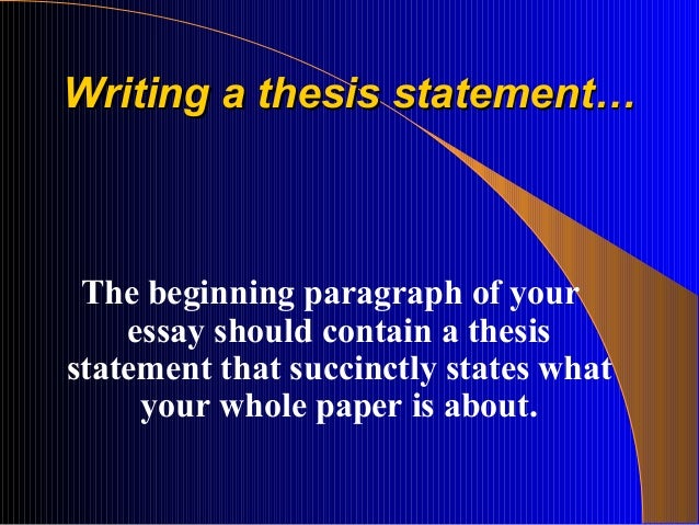 Art of writing a research paper and thesis