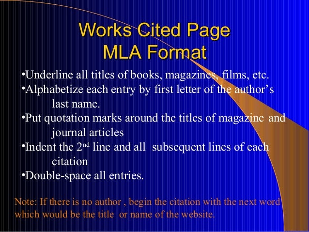 How to cite (MLA) an internet source inside a history essay (11th grade)?