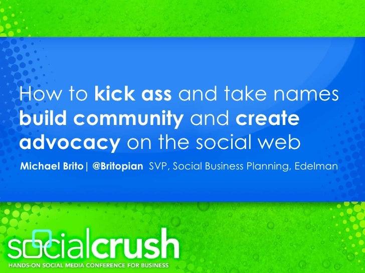 Michael Brito - The Future of Social Business
