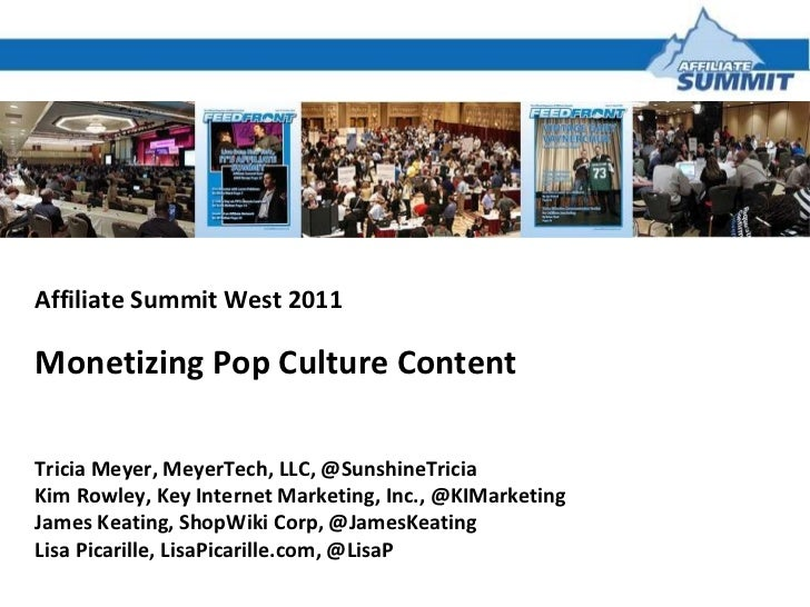Monetizing Pop Culture Content