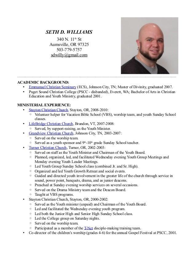 Resume Church Youth Leader Pastoral Resume Sle Of Resume Kevin – Pastor Resume