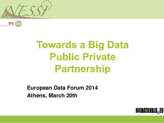 European Data Forum 2014 Athens, March 20th