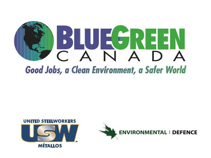 Blue Green Canada Presentation