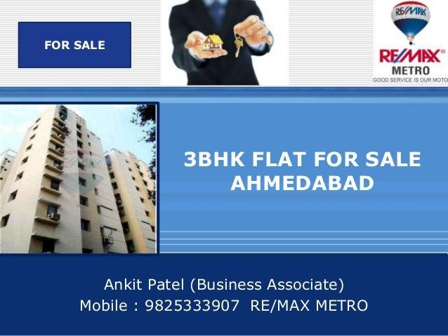 3 bhk flat for sale Prahladnagar, Ahmedabad