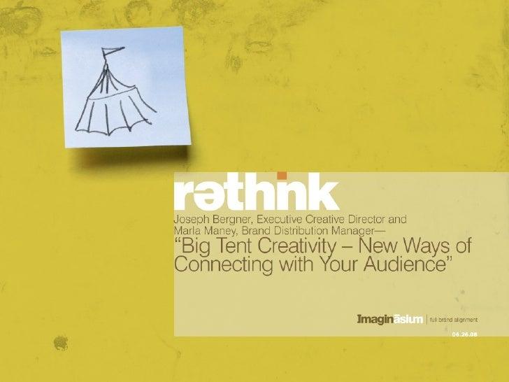 Big Tent Creativity